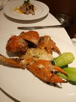 Crab . . .  (At Sinfonia Restaurant)
