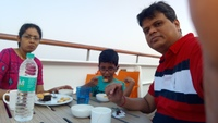 We having breakfast in the 10th floor restaurant