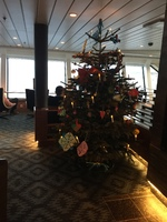 Love Christmas tree on deck 7
