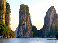Beautiful Ha Long Bay, Vietnam.