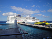 Norwegian Epic in Cozumel