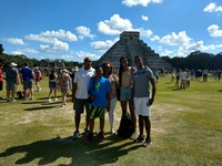 Chitchen Mayen Ruins in the Mexico, Yucatan.  It was a 3 hour trip there an