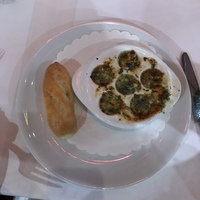 escargot from the dining room