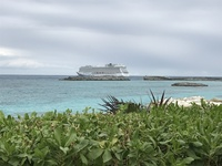 Docked at Great Stirrup Cay