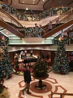 Christmas Decorations in the Atrium