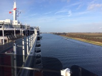 Journey through North Sea Canal, Netherlands