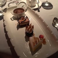 The crown dependence - sampler dessert from Crown Grill!