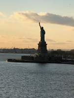 PASSING THE STATUE OF LIBERTY