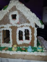 A gingerbread house??
