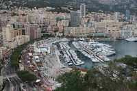 The bay at Monte Carlo