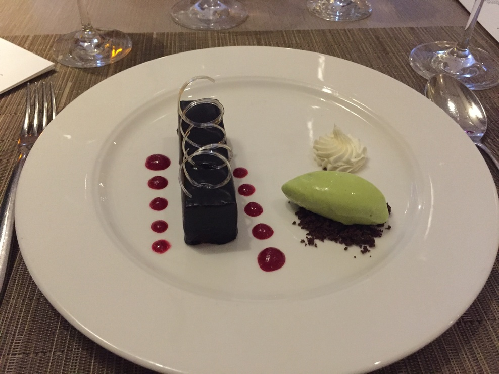 Dessert at the Chef's Table Restaurant