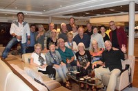 Celebrating a great cruise on board The Viking Vili