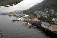 View of Ketchikan from our suite.