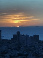 Sunset Tel Aviv, Israel