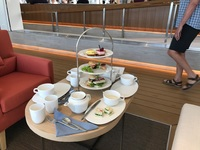 High Tea on the Viking Sun.