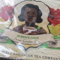Bahamanian rum tea - I brought some home.