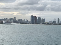 Sailing out of Miami to fun!