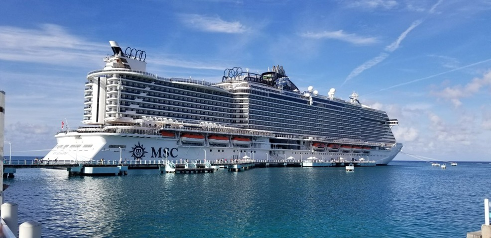 The most beautiful ship from MSC
