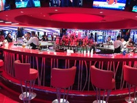 The casino bar