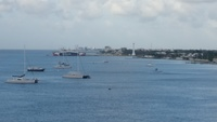 Over looking Cozumel from the ship.