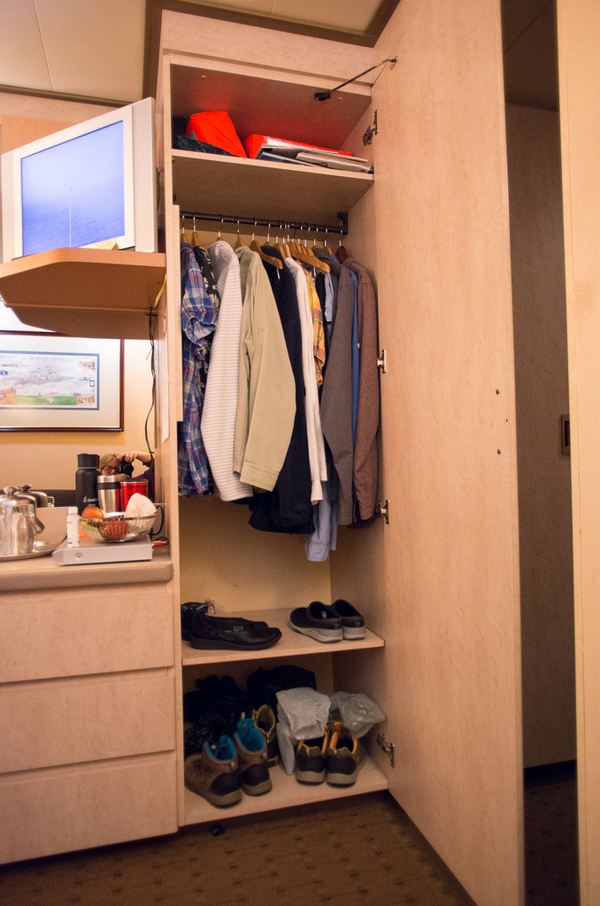 Plenty of closet and drawer space. Closet#1