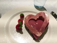 Awesome Valentines Day dessert! Thanks for ALL the amazing food, Viking chefs!