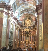 Melk altar and sanctuary. Absolutely stunning interior. Because we have bee