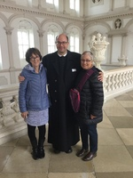 This at the Gottweig Abbey in Krems, Austria.  Our tour guide Father Pius.
