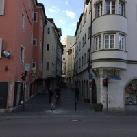 Regensburg, Germany on our morning walking tour.