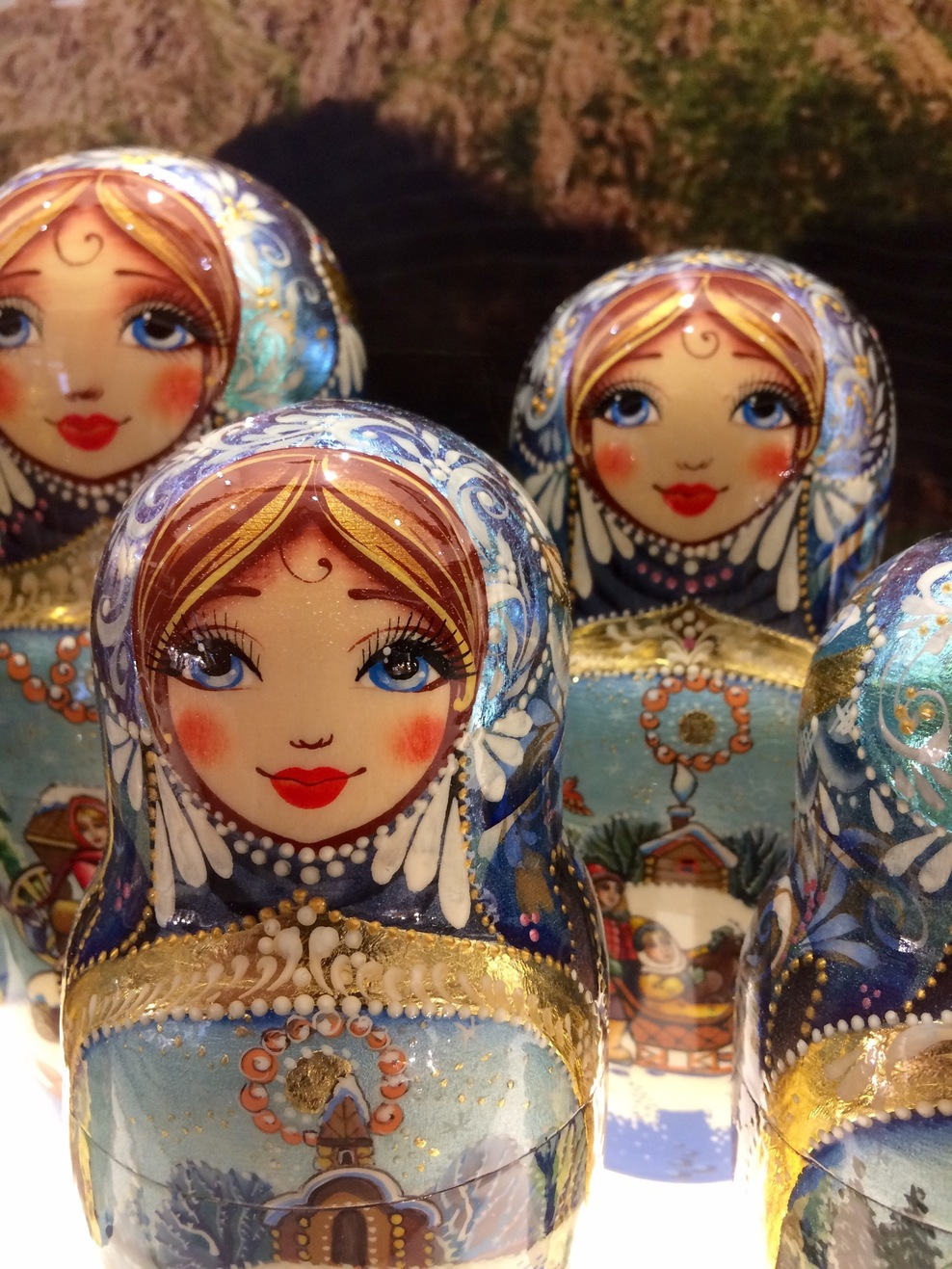 Welcome to Russia ..