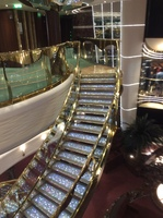 This is the staircace in the reception area absolutely stunning