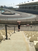 A excursion to the Yas Marina Formula grand prix circuit in AbuDhabi