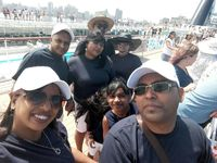 Family 1st day on our cruises