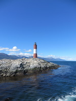 Lighthouse st end of the world Ushuaia