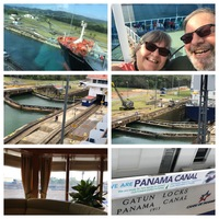 Scenes from our Panama Canal transit day
