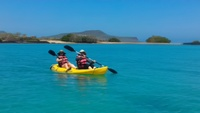 Kayaking and Snorkeling was offered.