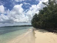 Marie Galante! Peace and Quiet! No resorts or other people were on the beac