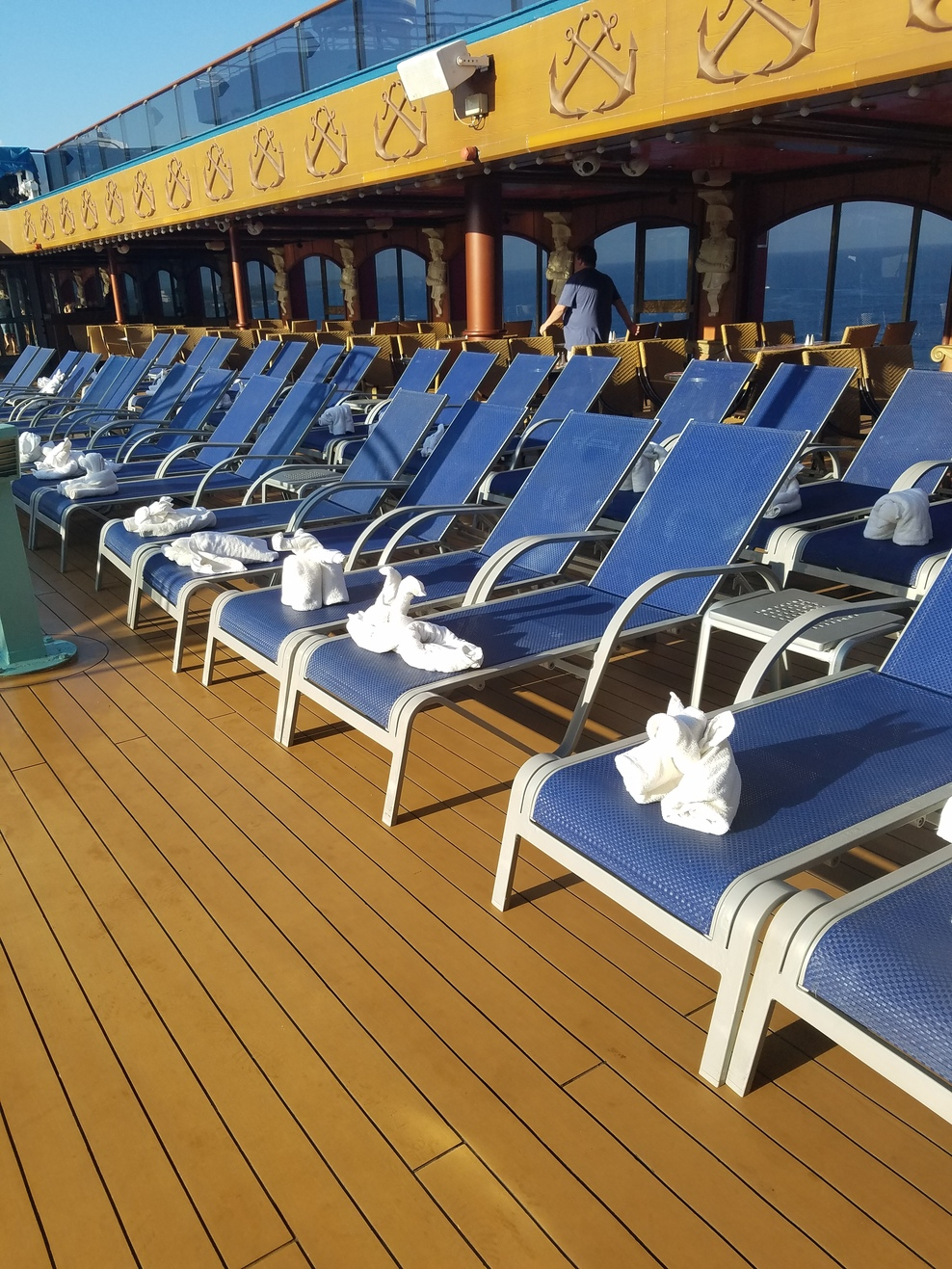 Pool Spa Fitness On Carnival Miracle Cruise Ship