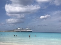 Ship from Half Moon Cay