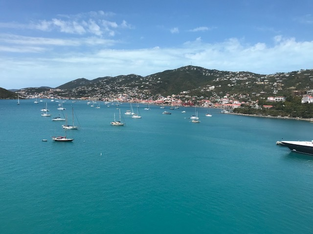 St. Thomas harbor.