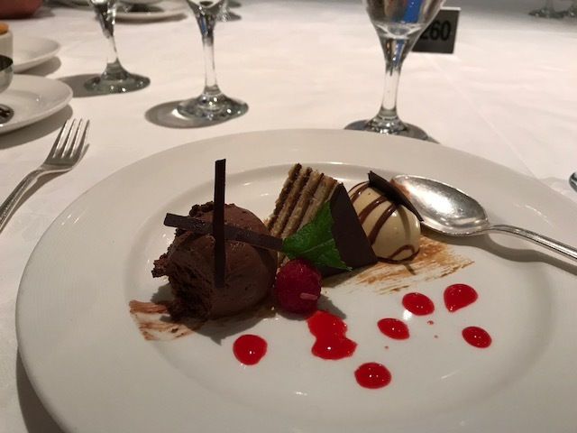 Amazing chocolate journey dessert.