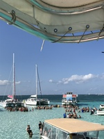 Excursion at stingray city