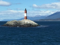 Ushuaia lighthouse.