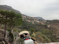 View from top of Eze