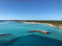 Ok, this was our view of Castaway Cay. Simply beautiful!