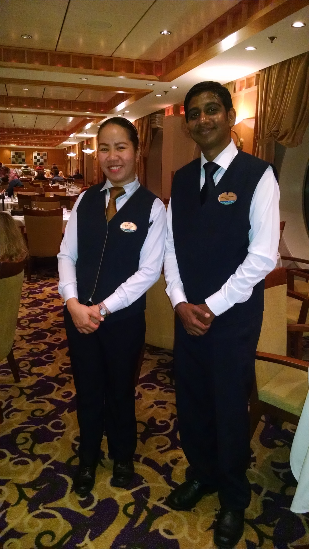 Awesome wait staff. 
