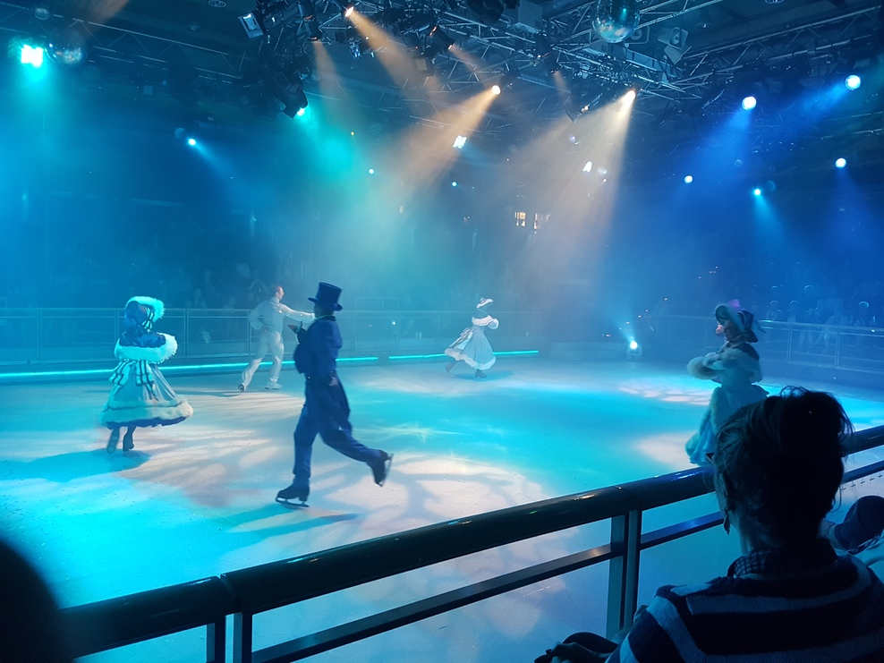 The ice show, fantastic