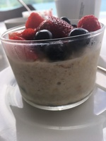 Muesli from Seabourn Square for breakfast