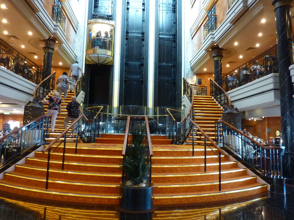 The Atrium of the Norwegian Spirit