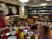 Concierge lounge bfast